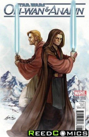 Obi-Wan and Anakin #1 (1 in 25 Oum Incentive Variant Cover)