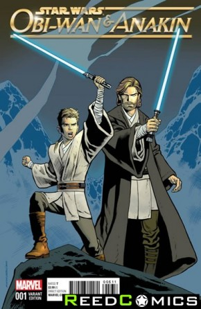 Obi-Wan and Anakin #1 (1 in 25 Nowlan Classic Incentive Variant Cover)