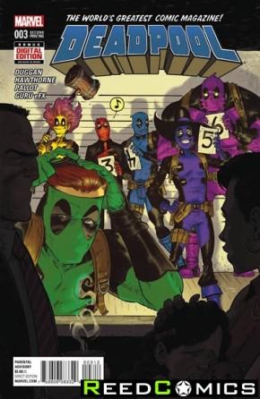Deadpool Volume 5 #3 (2nd Print)
