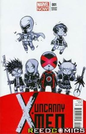 Uncanny X-Men Volume 3 #1 (Skottie Young Baby Variant Cover)