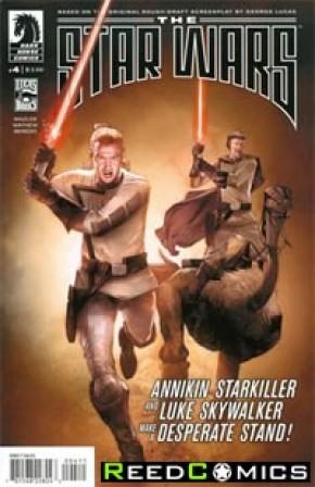 Star Wars Lucas Draft #4