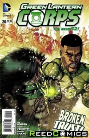 Green Lantern Corps Volume 3 #26
