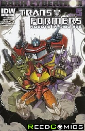 Transformers Robots In Disguise Ongoing #24 (1 in 10 Incentive Variant Cover)