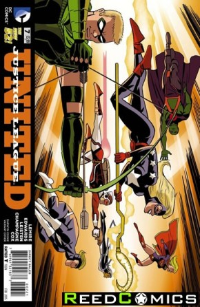 Justice League United #7 (Darwyn Cook Variant Edition)