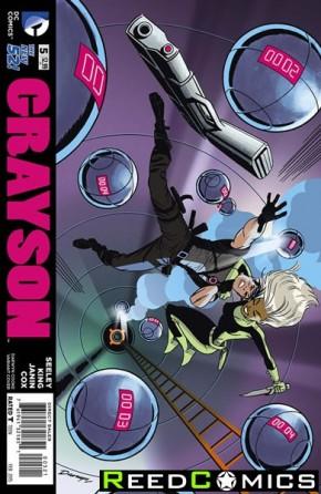 Grayson #5 (Darwyn Cooke Variant Edition)