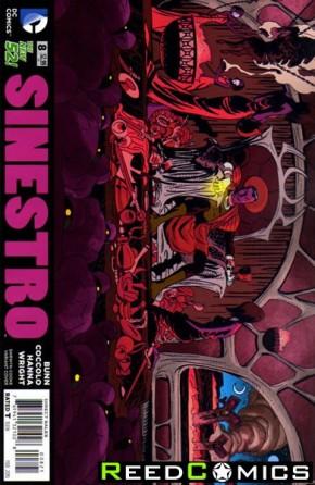 Sinestro #8 (Darwyn Cooke Variant Edition)