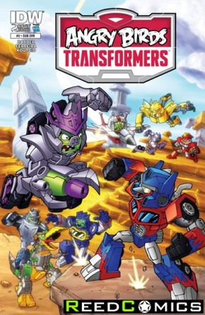 Angry Birds Transformers #2 (Subscription Variant Cover)