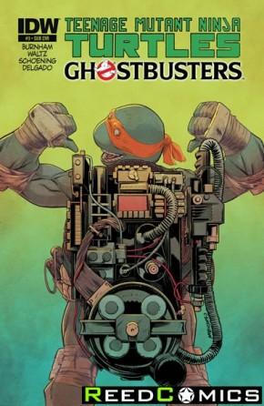 Teenage Mutant Ninja Turtles Ghostbusters #3 (Subscription Variant Cover)