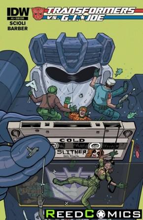 Transformers vs GI Joe #5 (Subscription Variant Cover)
