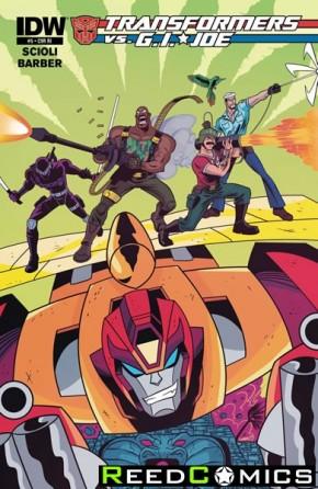 Transformers vs GI Joe #5 (1 in 10 Incentive Cover Variant)
