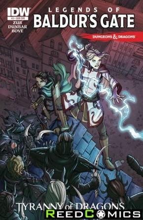 Dungeons and Dragons Legends of Baldurs Gate #3 (Subscription Variant)