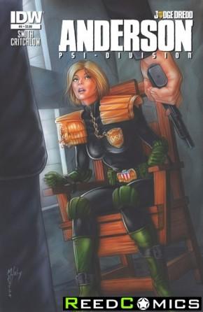 Judge Dredd Anderson Psi Division #4