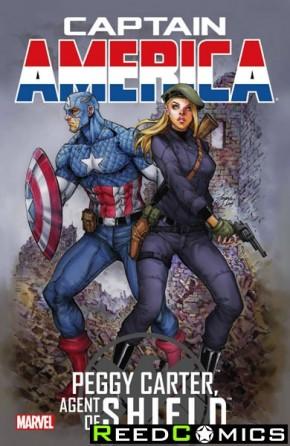 Captain America Peggy Carter Agent of Shield #1
