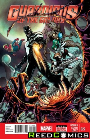 Guardians of the Galaxy Volume 3 #22