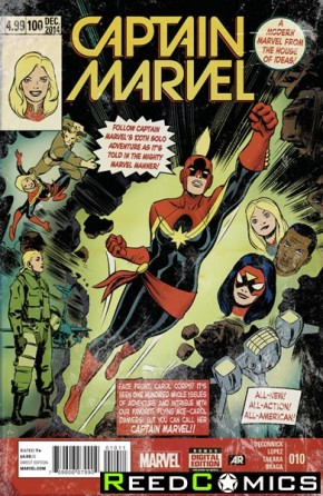 Captain Marvel Volume 7 #10