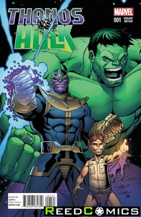 Thanos vs Hulk #1 (1 in 15 Incentive Variant)