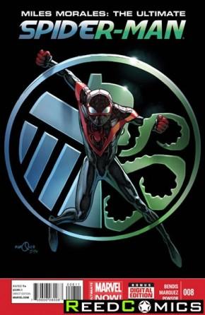 Miles Morales Ultimate Spiderman #8