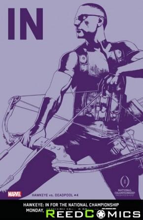 Hawkeye vs Deadpool #4 (1 in 10 Incentive Cover)