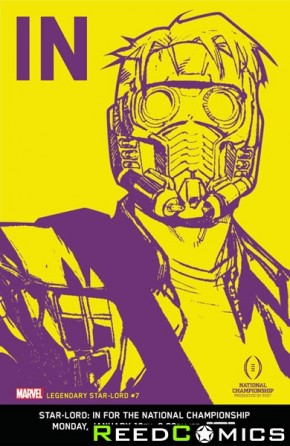 Legendary Star Lord #7 (1 in 10 Incentive Variant)