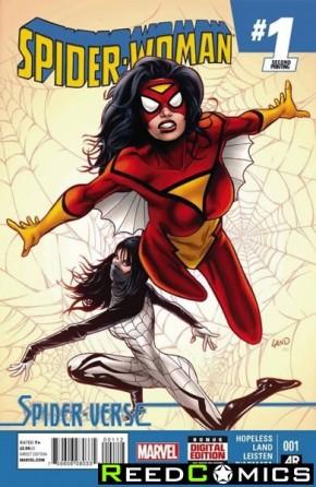 Spiderwoman Volume 5 #1 (2nd Print)