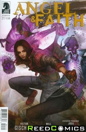 Angel and Faith Season 10 #21