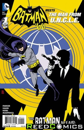 Batman 66 Meets The Man From Uncle #1