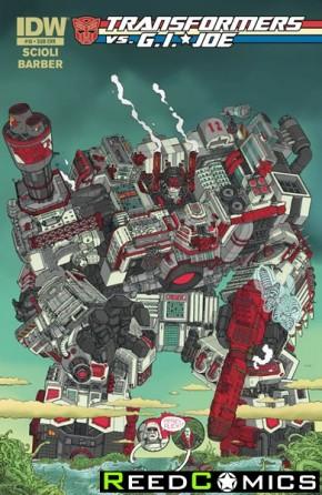 Transformers vs GI Joe #10 (Subscription Variant Cover)