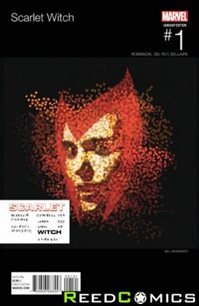 Scarlet Witch Volume 2 #1 (Hip Hop Variant Cover)