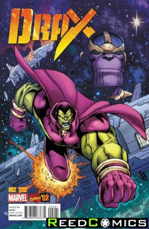 Drax #2 (1 in 20 Lim Marvel 92 Incentive Variant Cover)