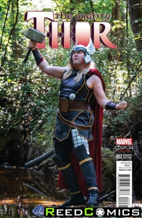 The Mighty Thor Volume 2 #2 (1 in 15 Cosplay Incentive Variant Cover)