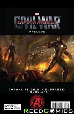 Marvels Captain America Civil War Prelude #2