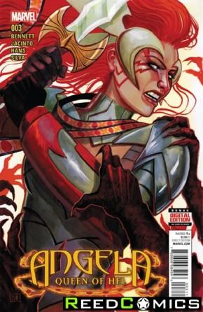 Angela Queen of Hel #3