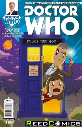 Doctor Who 12th #16 (1 in 10 Incentive Variant Cover)