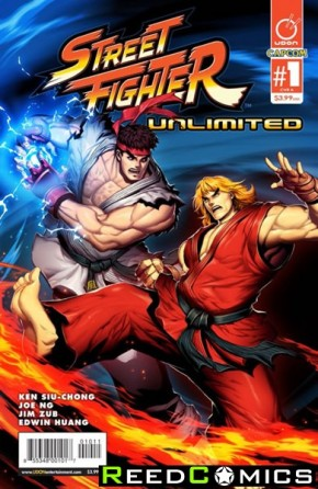 Street Fighter Unlimited #1 (Cover A)
