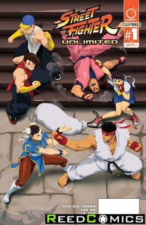 Street Fighter Unlimited #1 (Cover B)