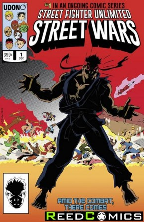 Street Fighter Unlimited #1 (1 in 10 Incentive Variant Cover)