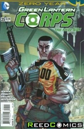 Green Lantern Corps Volume 3 #25