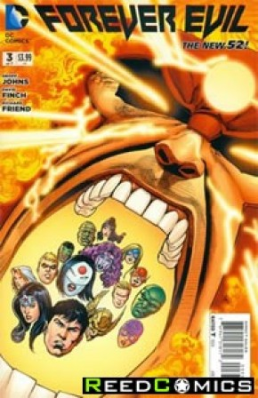 Forever Evil #3 (1 in 25 Incentive Variant Cover B)