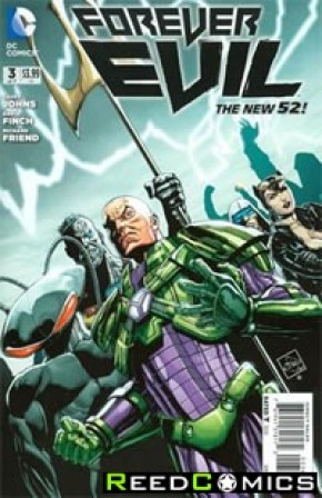 Forever Evil #3 (1 in 25 Incentive Variant Cover C)