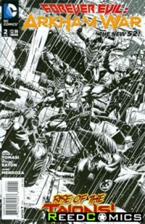 Forever Evil Arkham War #2 (1 in 25 Incentive Variant Cover)
