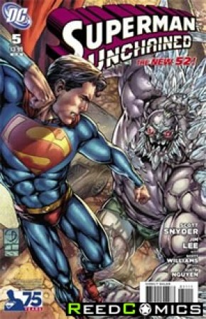 Superman Unchained #5 (75th Anniversary Villains 1 in 25 Variant Cover)