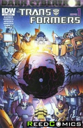 Transformers Dark Cybertron #1 (Subscription Variant Cover)