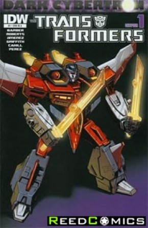 Transformers Dark Cybertron #1 (1 in 10 Incentive Variant Cover)