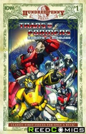 Transformers Robots In Disguise Ongoing #1 100 Penny Press Edition