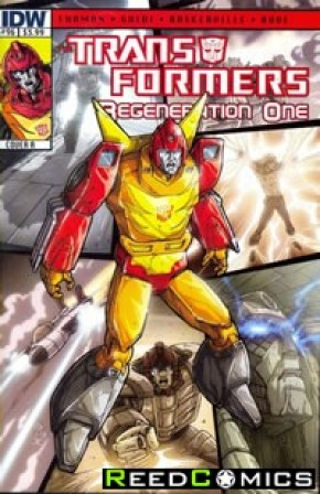 Transformers Regeneration One #96 (Cover A)