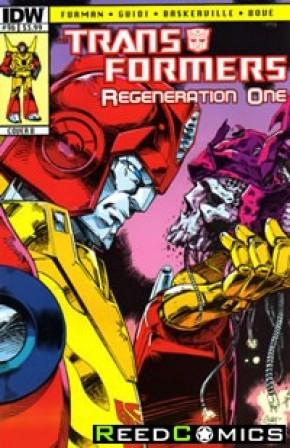 Transformers Regeneration One #96 (Cover B)