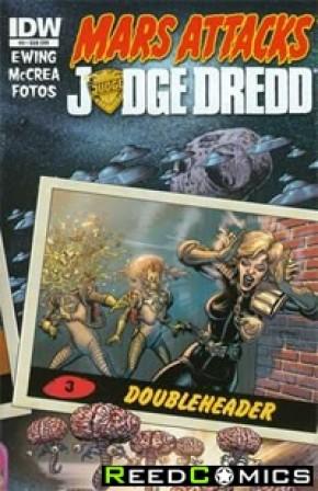 Mars Attacks Judge Dredd #3 (Subscription Variant)