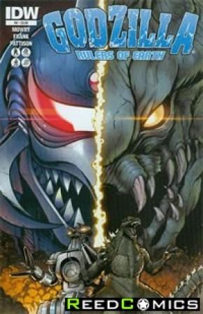 Godzilla Rulers of the Earth #6