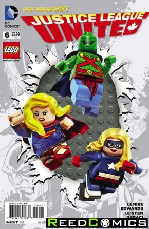 Justice League United #6 (Lego Variant Edition)