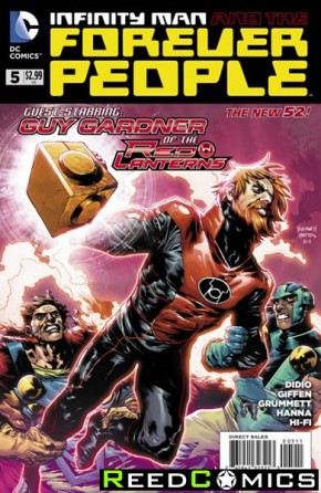 Infinity Man and the Forever People #5